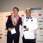 Dennis &amp; Stephen at the 2012 Na Hoku Hanohano Awards